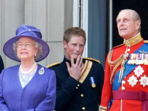 Prince Harry, The Queen, Prince Phillip