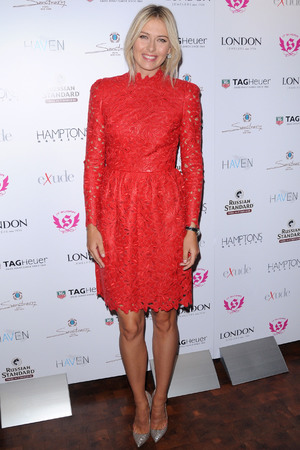 Maria Sharapova Hamptons Magazine celebrate with cover star Maria Sharapova at The Sanctuary Hotel New York City