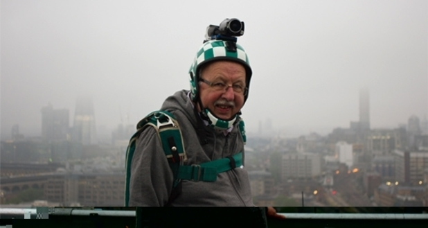 Michael Fish BASE jump