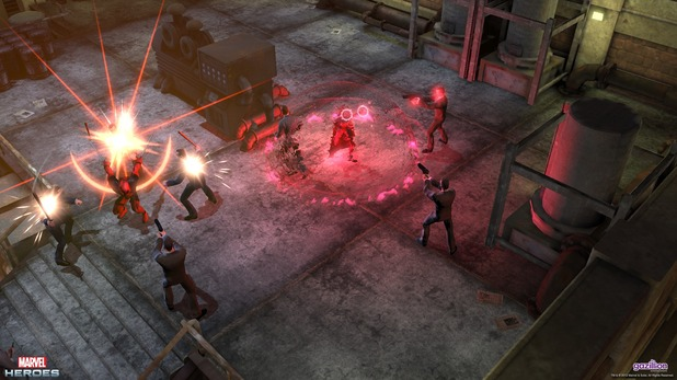 Marvel Heroes: The Scarlet Witch