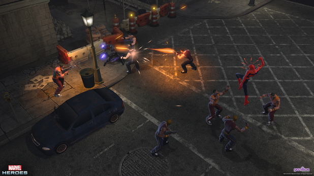 Marvel Heroes: Spiderman and the Black Panther