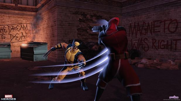 Marvel Heroes: Wolverine
