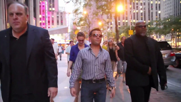 Fake celebrity pranks New York - video still