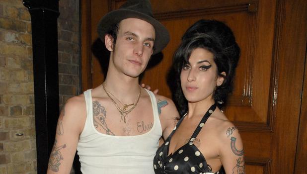 Blake Fielder Civil and Amy Winehouse.