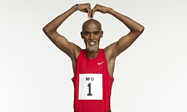 Mo Farah appears in Virgin Media advert