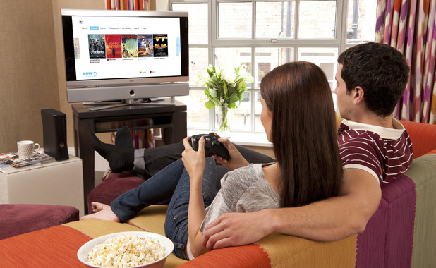 Users of the set top boxes can now stream content on Sky's internet TV service.