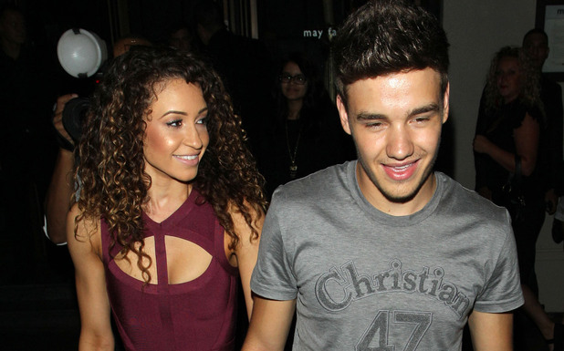 Liam Payne and girlfriend Danielle Peazer Liam Payne of One Direction celebrates his birthday at Funky Buddah nightclub London, England - 25.08.12 Mandatory Credit: Luigi/WENN.com