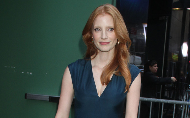 Jessica Chastain at ABC Studios for 'Good Morning America' New York City, USA