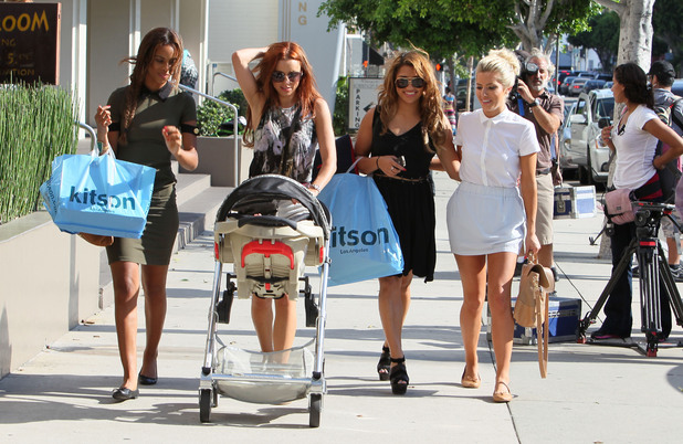 Rochelle Wiseman, Una Healy, Vanessa White and Mollie King