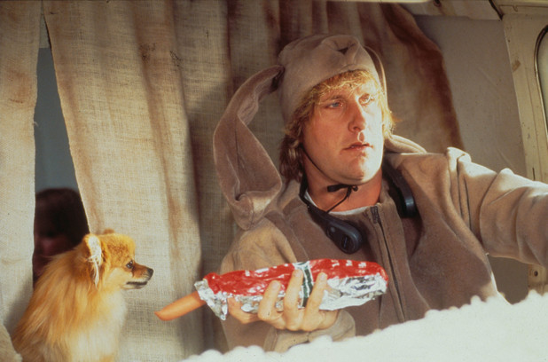 Dumb and Dumber Jeff Daniels dog van