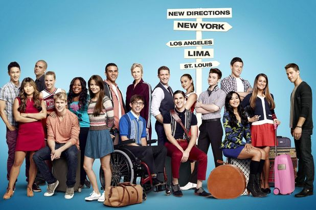 'Glee' season 4 cast poster