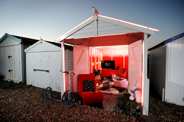 Virgin's best-connected UK beach hut
