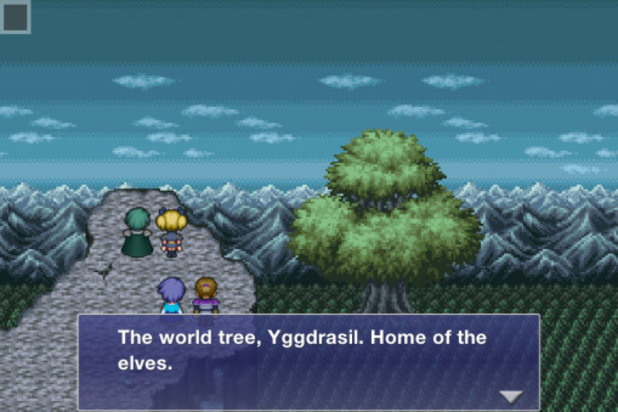 'Final Fantasy Dimensions' screenshot