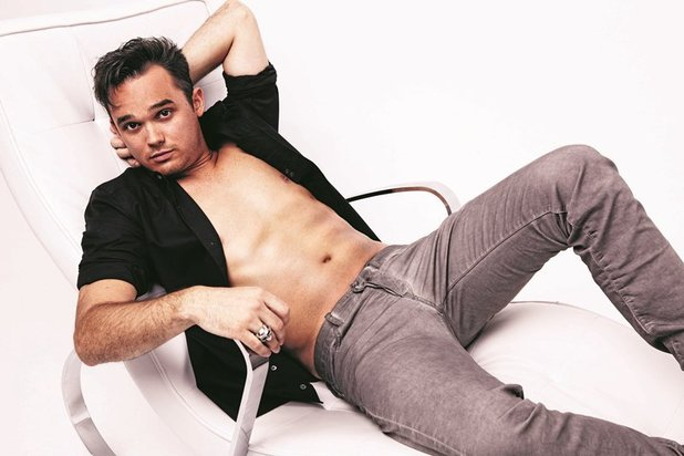 Gareth Gates poses for Now magazine