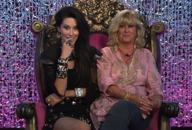 Jasmine and Marilyn in the diary room.
