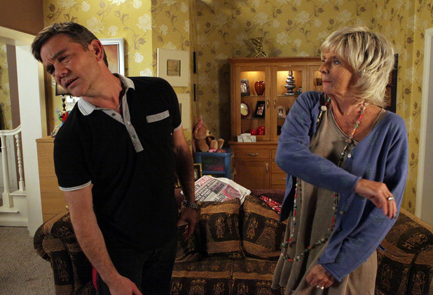 Karl takes blame away from himself, hoping he can win his way back into Sunita's heart. Gloria slaps him across the face