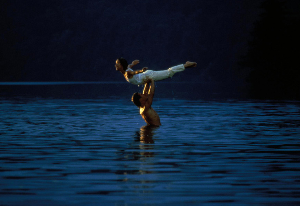 Dirty Dancing in water - Dirty Dancing 25th anniversary - Digital Spy