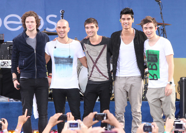The Wanted perform in Central Park as part of ABC's 'Good Morning America' Summer Concert Series.