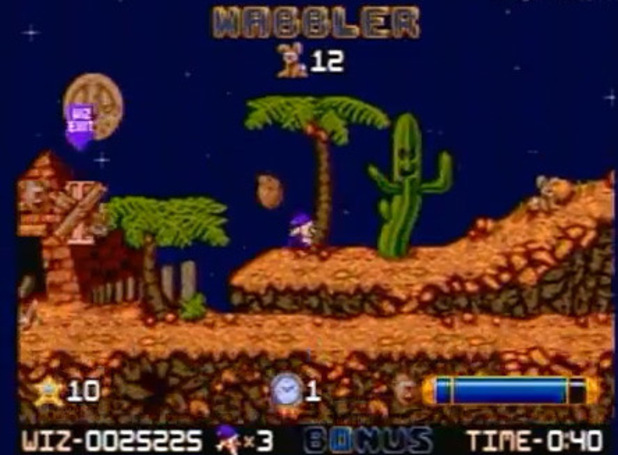 'Wiz 'n' Liz' screenshot