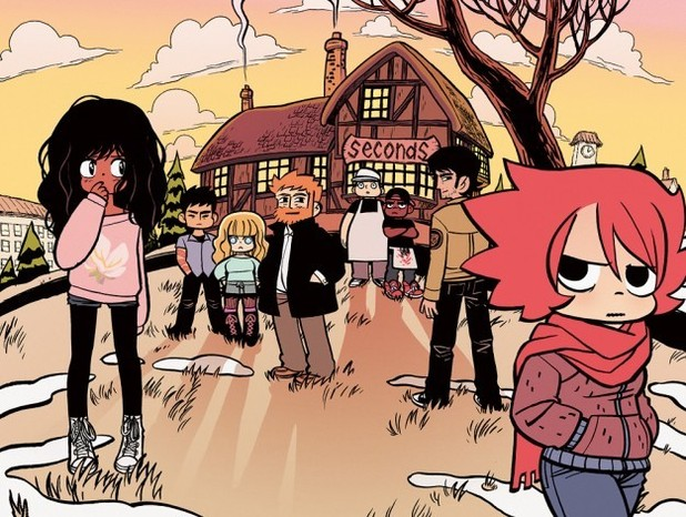 Bryan Lee O'Malley's 'Seconds'