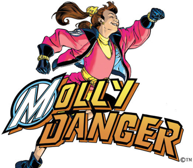 &#39;Molly Danger&#39; artwork