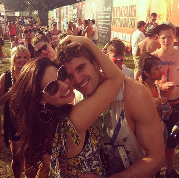 Kelly Brook, Thom Evans, twitter