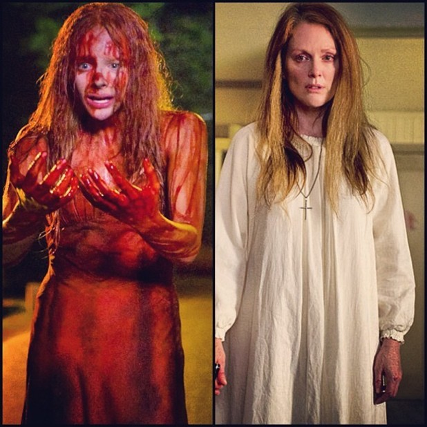 Carrie remake, Chloe Moretz, Julianna Moore