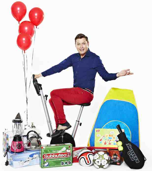 Brian Dowling teams up with Argos.