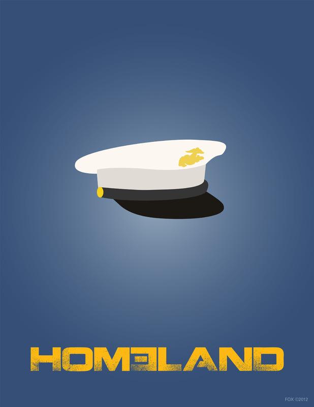 Homeland Series 1 Boxset posters