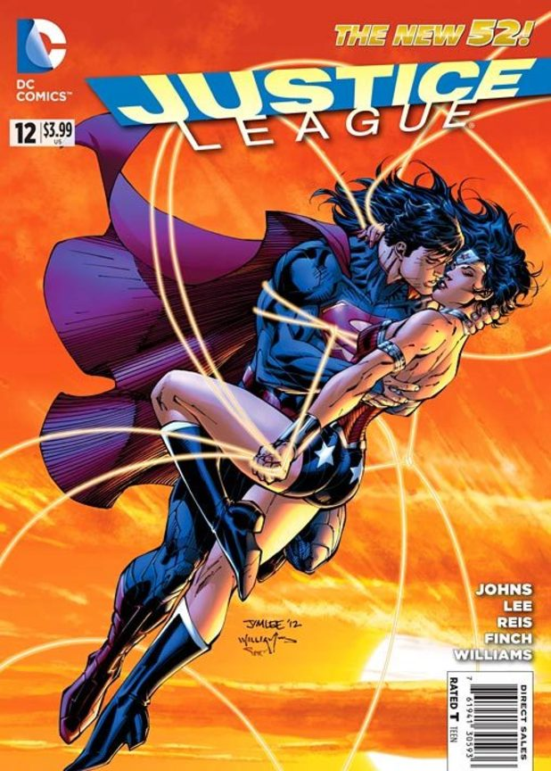 Justice League #12 variant cover
