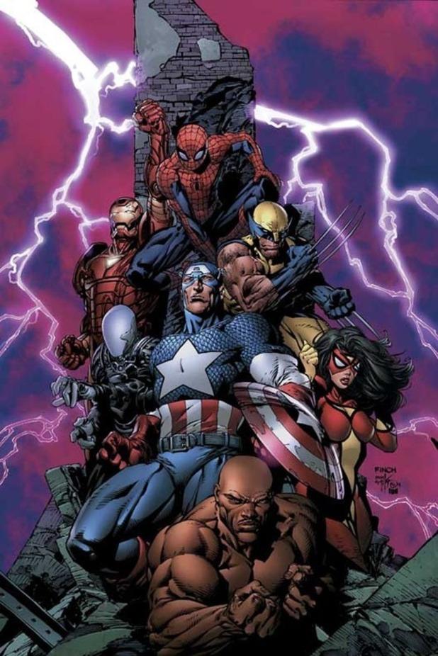 'New Avengers' #1