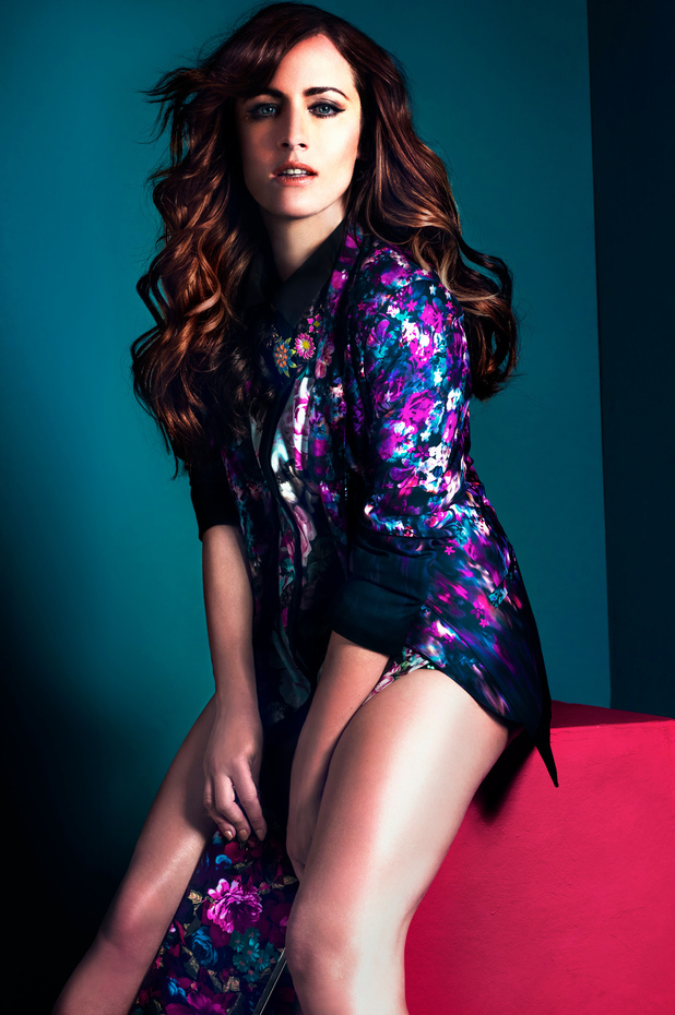 Caroline Flack for Look Magazine