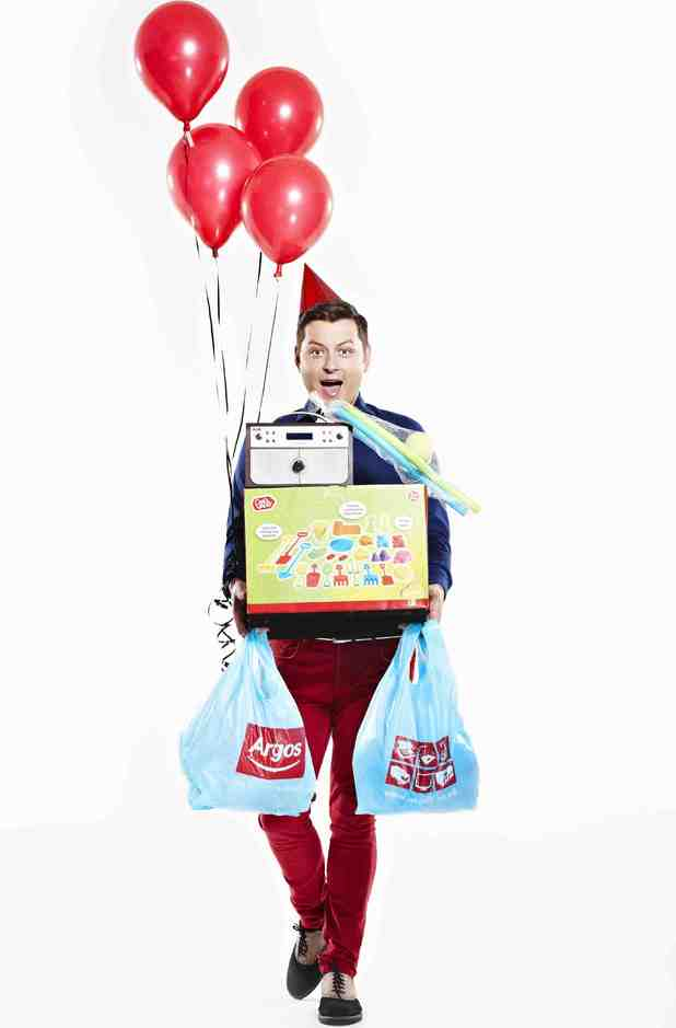 Brian Dowling teams with Argos.