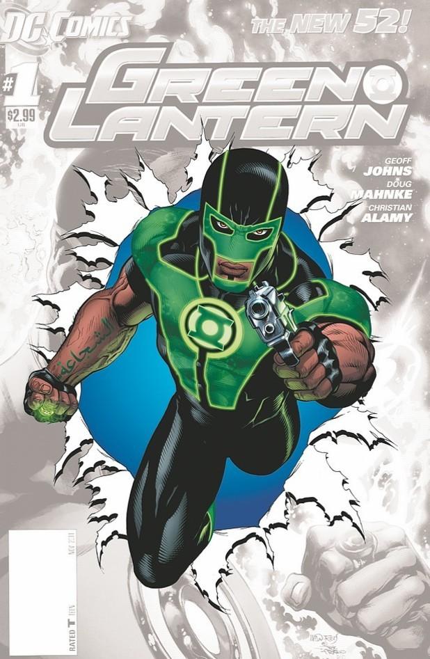 Green Lantern #0 cover