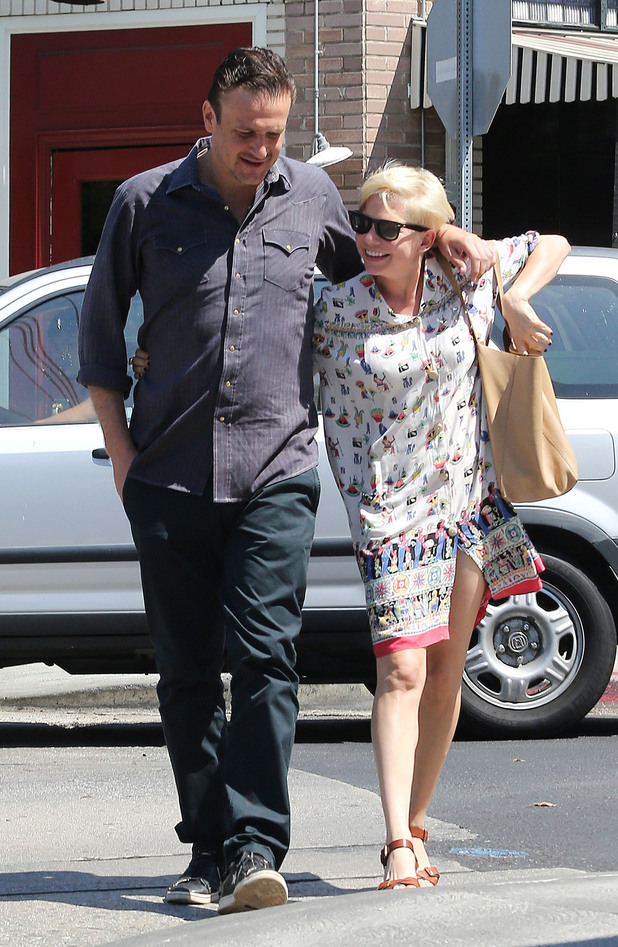 Michelle Williams and Jason Segel