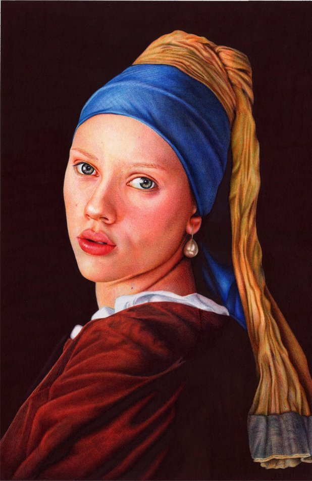 'Girl with a Pearl Earring'
