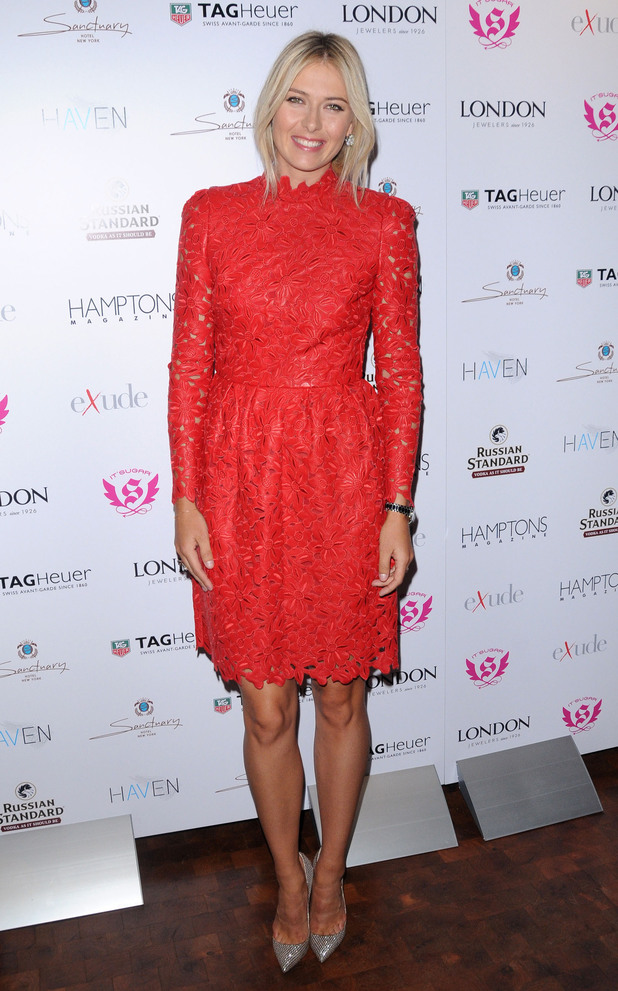 Maria Sharapova Hamptons Magazine celebrate with cover star Maria Sharapova at The Sanctuary HotelNew York City