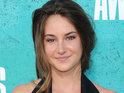 "Shailene Woodley says her Divergent character is ""not a superhero - not Katniss""."