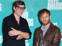 The Black Keys beat Michael Jackson to the top of the US charts.