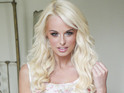 """The glamour model is worried about """"psychotic"""" Jasmine Lennard."""