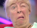 The Situation, Julie Goodyear and more pull comical faces in the CBB house.
