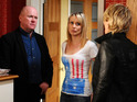 "The actress admits to ""pangs"" when watching EastEnders."