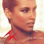 Alicia Keys 'Girl On Fire' single cover
