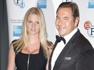 David Walliams and Lara Stone The Screen Epiphanies series continues with David Walliams introducing 'The Spy Who Loved me' at the BFI Southbank - photocall. London, England