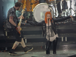 Paramore perform at Leeds Festival 2012 held at Bramham Park 