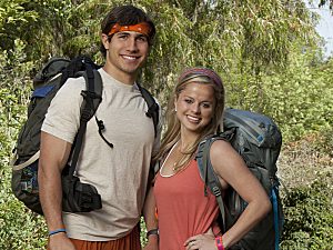 "The Amazing Race - Season 21: Trey Wier and Alexis ""Lexi"" Beerman"