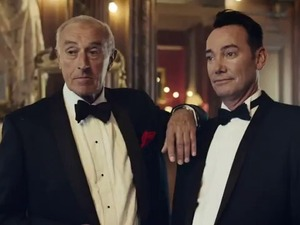 Len Goodman and Craig Revei Horwood in the Strictly Come Dancing 2012 trailer.