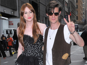 Karen Gillan, Matt Smith, Doctor Who film premiere