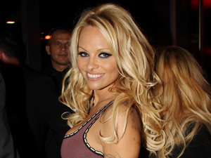 Pamela Anderson at the launch party of the Playboy Club Cologne.