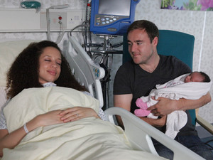 Kirsty and the baby are given the all clear at the hospital, but Tyrone is still furious about what happened with Tina
